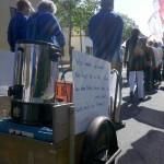 Eine mobile Kakao-Kanne in Kelheim