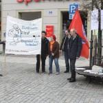 Aktion gegen Bundeswehrwerbung 2