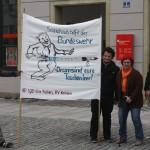 Aktion gegen Bundeswehrwerbung 3