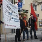Aktion gegen Bundeswehrwerbung 5
