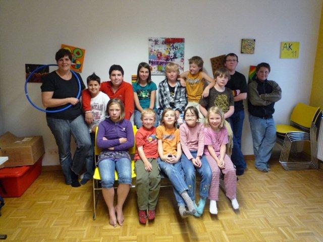 Unsere Langquaider Gruppe und ihre Helfer